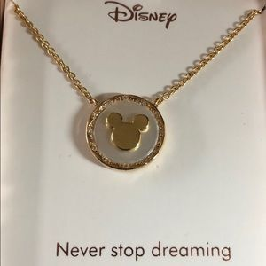 Disney Silver Plated, Never Stop Dreaming,Necklace